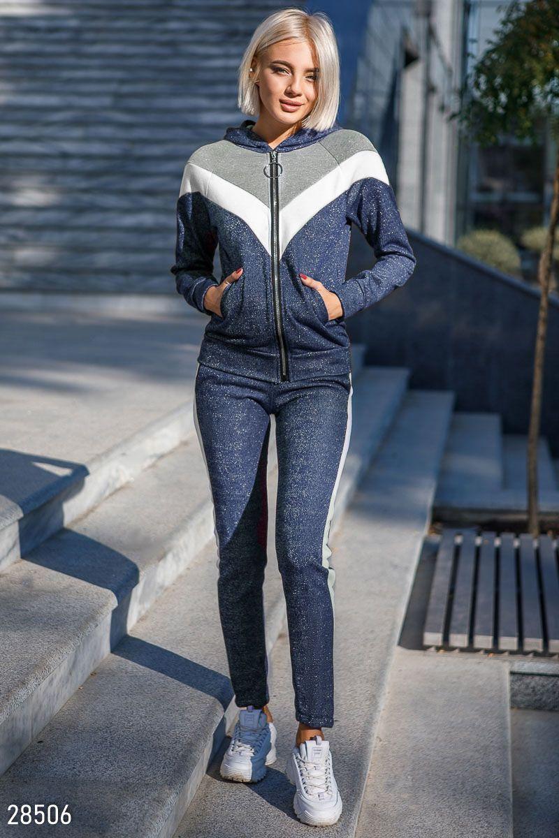 15cf45b2 Костюм на молнии in 2019   style   Спортивная одежда, Женская ...