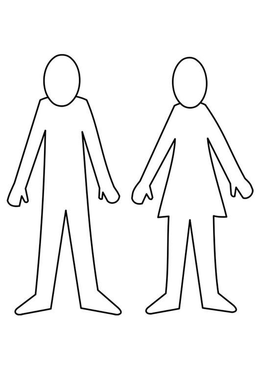 Coloring Page Man And Woman Img 21995 Coloring Pages Stencil Font Free Coloring Sheets