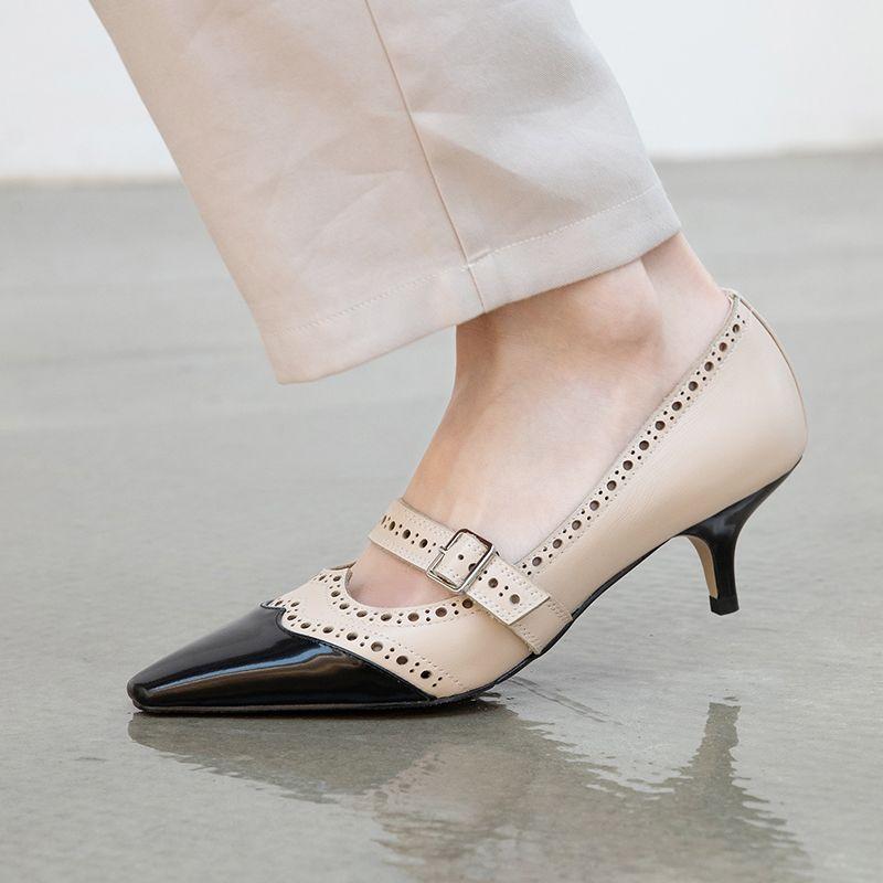 Chiko Asiah Square Toe Kitten Heels Pumps In 2020 Kitten Heel Pumps Kitten Heel Shoes Pumps Heels