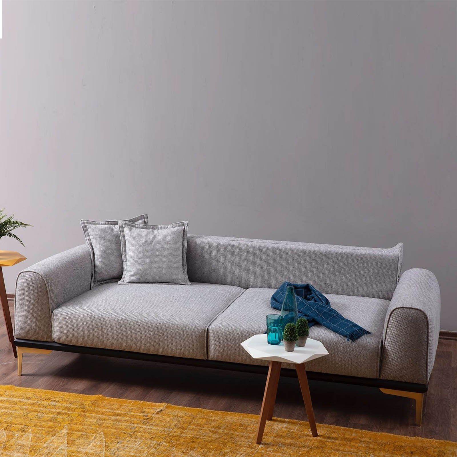 Pre Order 60 Days Delivery Nirvana 3 Seater Sofa Bed Nirv004 Cekyat Kanepeler Mobilya