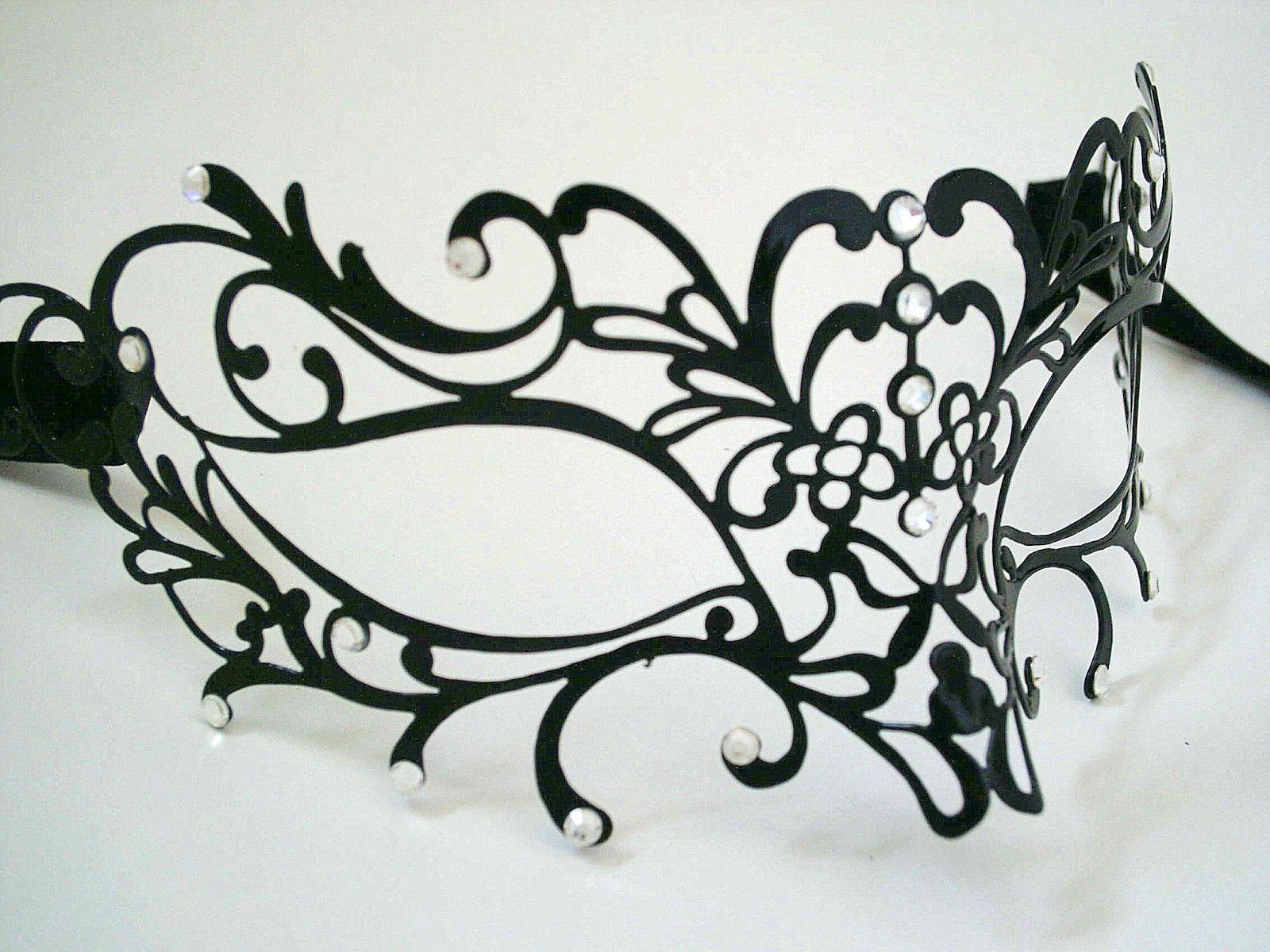 Simply Masquerade: Sworovski Edition Filigree Mask   crafts ...