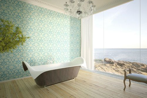 The New Wave Of Amazing Bathtubs From German Designer Manuel