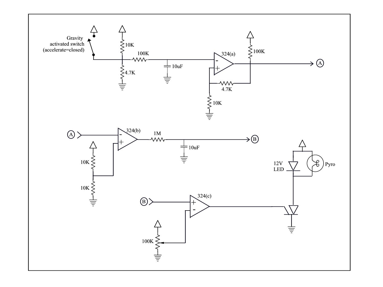 Super Simple Analog Timing #Circuit #Electrical | Electrical ...