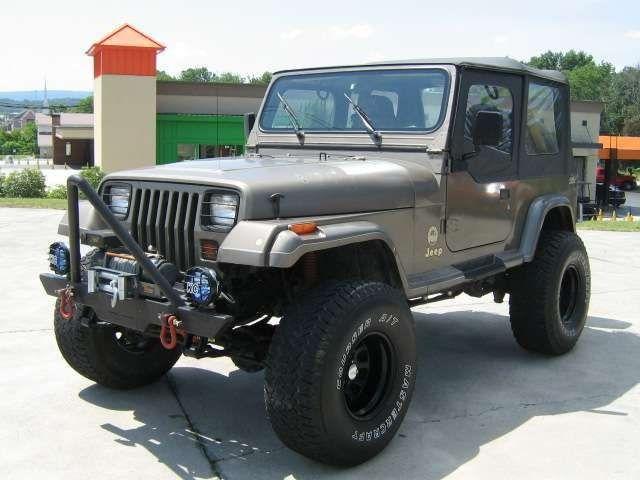 Jeep Wrangler Sahara 1990 Jeep Wrangler Yj Jeep Wrangler Jeep Yj