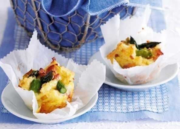 Stratas are savoury muffins made with bread and eggs. These are super-easy to make and are a great addition to a party or afternoon tea