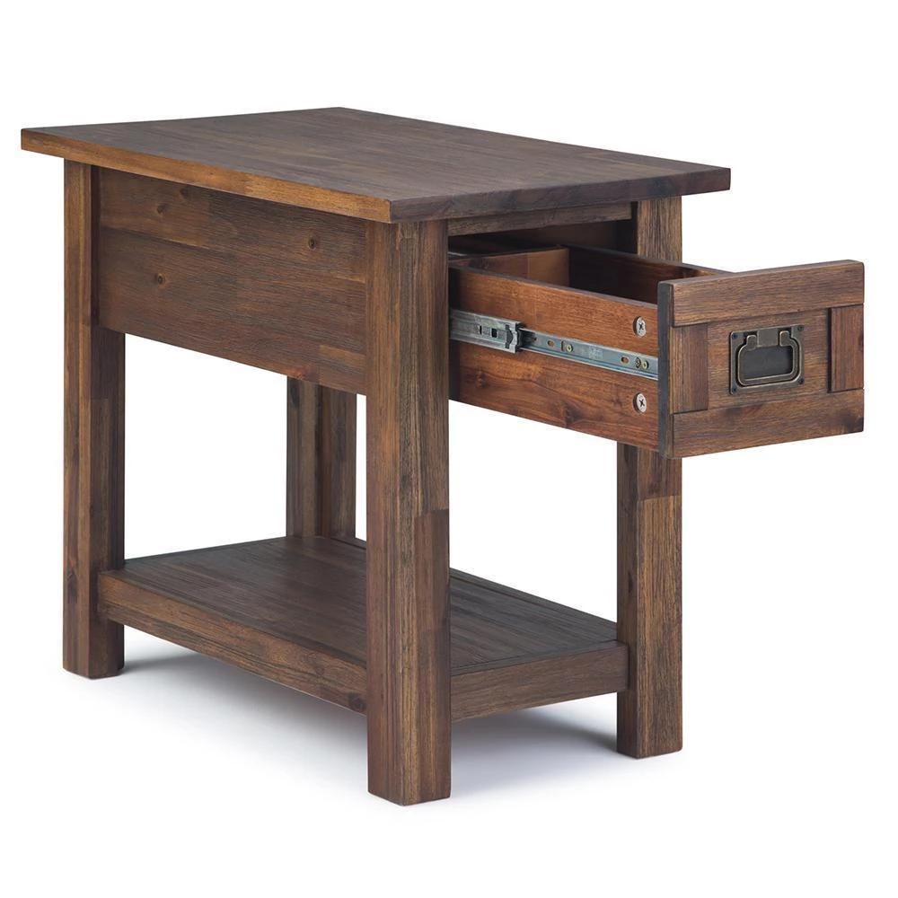 Monroe Narrow Side Table in 2020 | Narrow side table ...