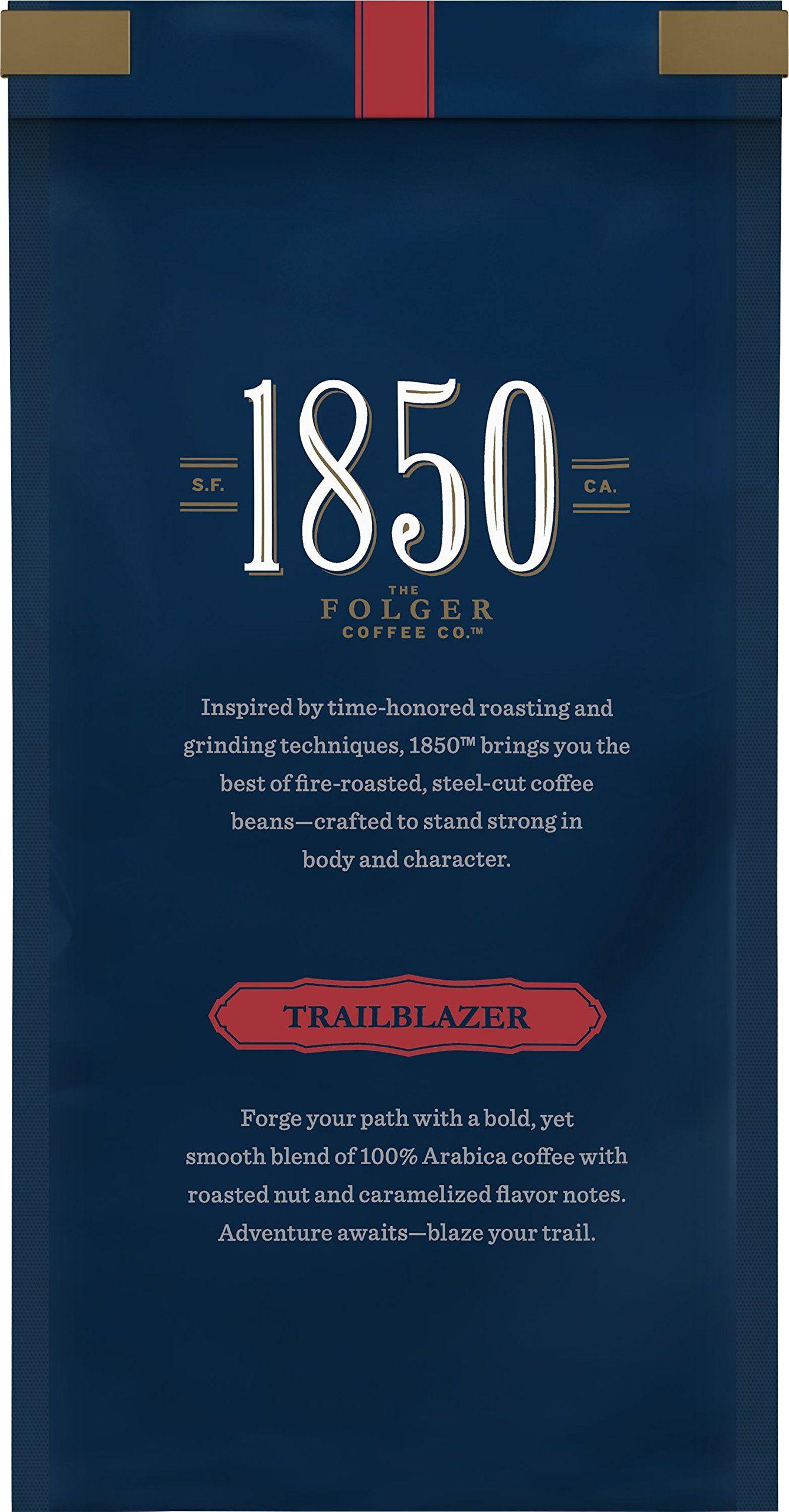 1850 3pack Taster Kit Of Folgers 1850 Ground Coffee 312oz