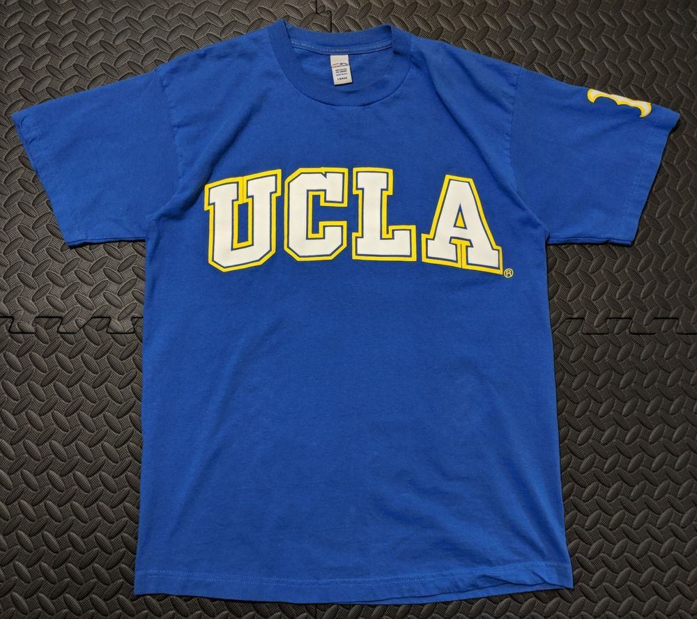 2f8b41287 Men s Pre-Owned Vintage UCLA Bruins Royal Blue Tee Shirt Made in USA Size  Large  CreationOfDemand  GraphicTee  bruins  gobruins  blue  vintagestyle   vintage ...