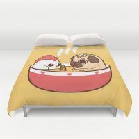 Chicken Noodle Puglie So… Duvet Cover