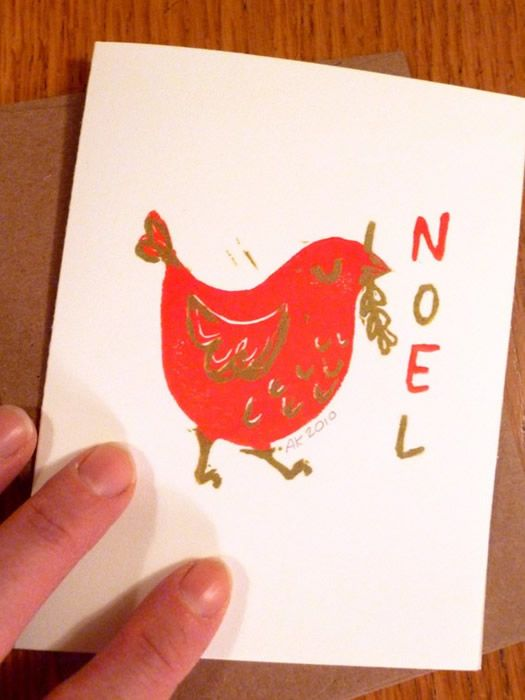 Why not send a Christmas card to a random home each year with a