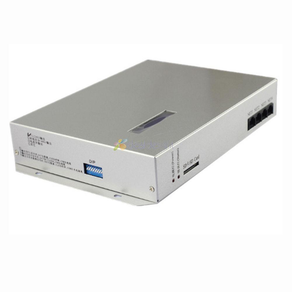 3a0a221c6da T-300K T300K SD Card online VIA PC RGB Full color led pixel module controller  8 ports 8192 pixels ws2811 ws2801 WS2812B Strip  Affiliate