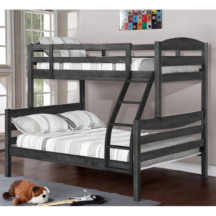 Wildon Home Twin Over Full Bunk Bed Full Bunk Beds Bunk Beds Bunk Beds With Drawers