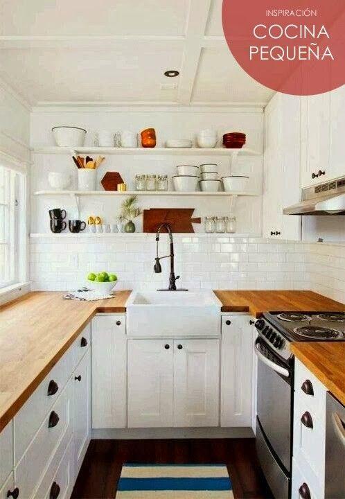 desglose de enlaces con consejos para cocinas pequeñas | Inspiración ...