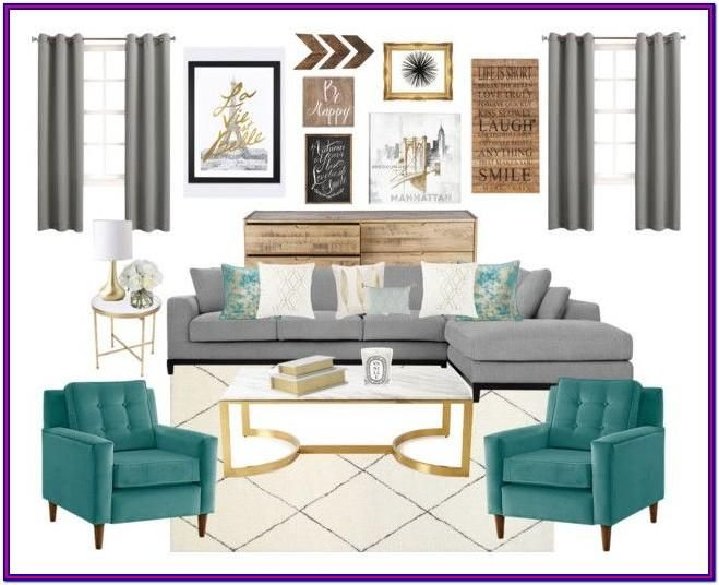 Grey Black White Turquoise Living Room Decorating Turquoise Living Room Decor Gold Living Room Living Room Turquoise #teal #and #brown #living #room #accessories