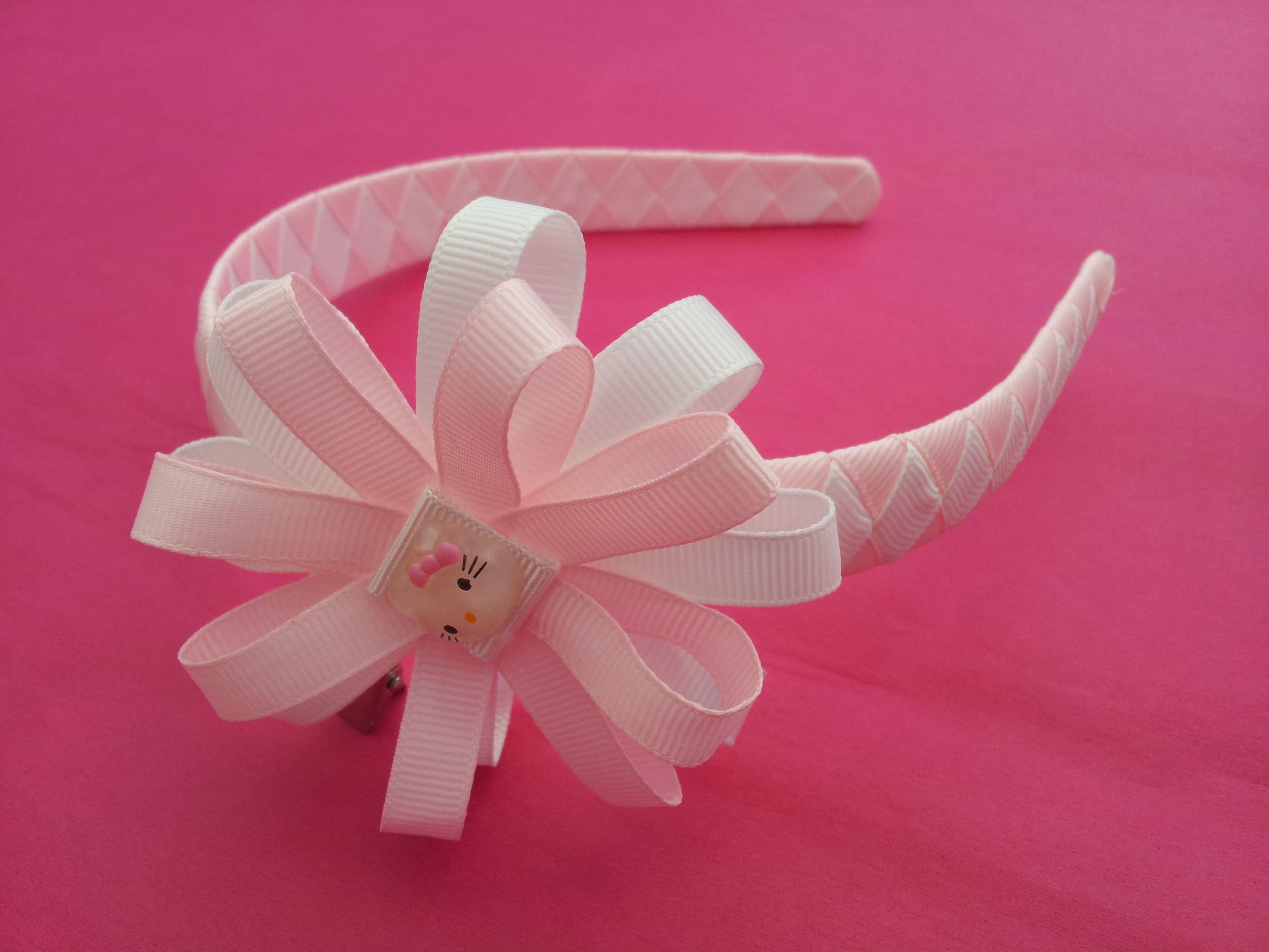 """10 BLESSING Good Girl 8 Inch ABC Hair Bow Clip 2.5/"""" Grosgrain Ribbon 79 No."""