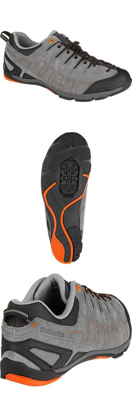 Shimano Sh Ct80 Cycling Shoe Men S Grey Orange 42 0 Velo