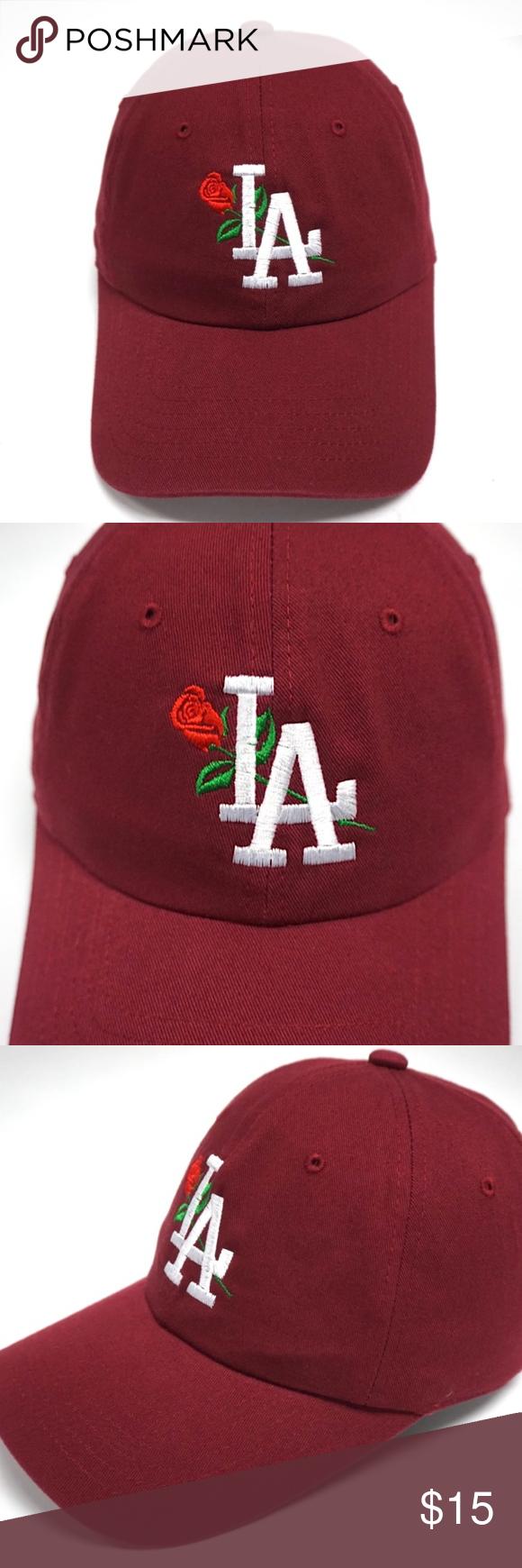 Los Angeles Dodgers Rose La Dad Hat Slouch Cap Dad Hats Women Shopping Fashion Trends
