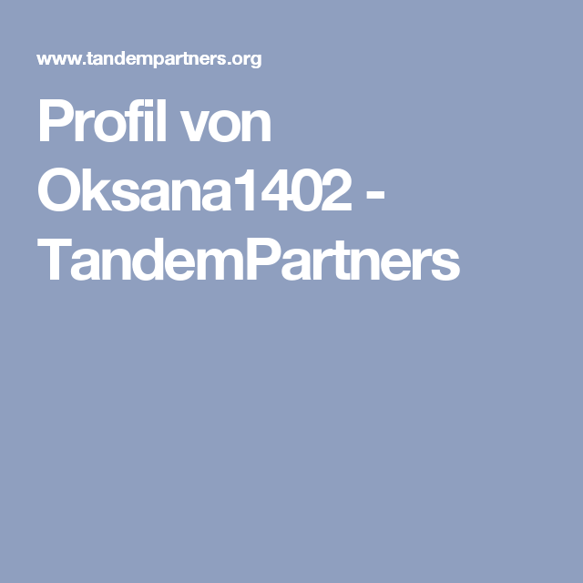 tandempartners org
