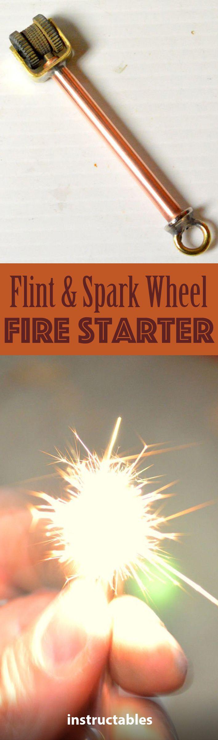 Photo of Flint and Spark Wheel Fire Starter
