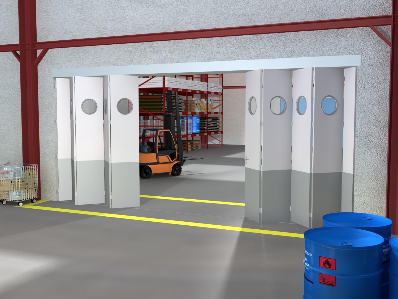Le syst me coulissant pour portes accord on avec demi for Systeme verrouillage porte garage