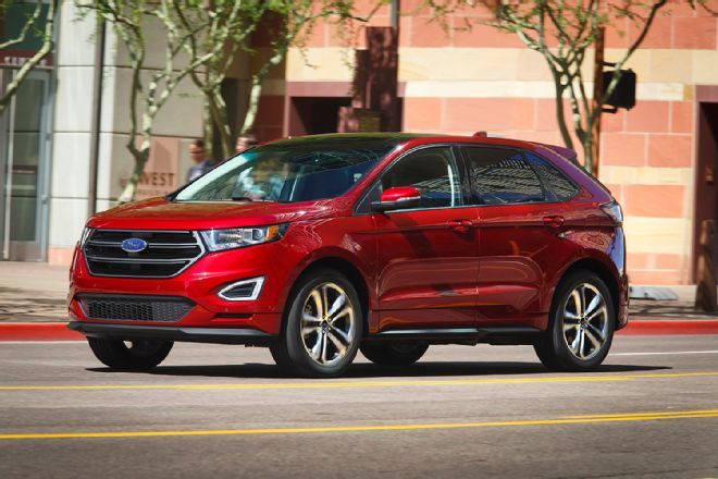 2015 Ford Edge Review From Automobile Magazine Ford Edge