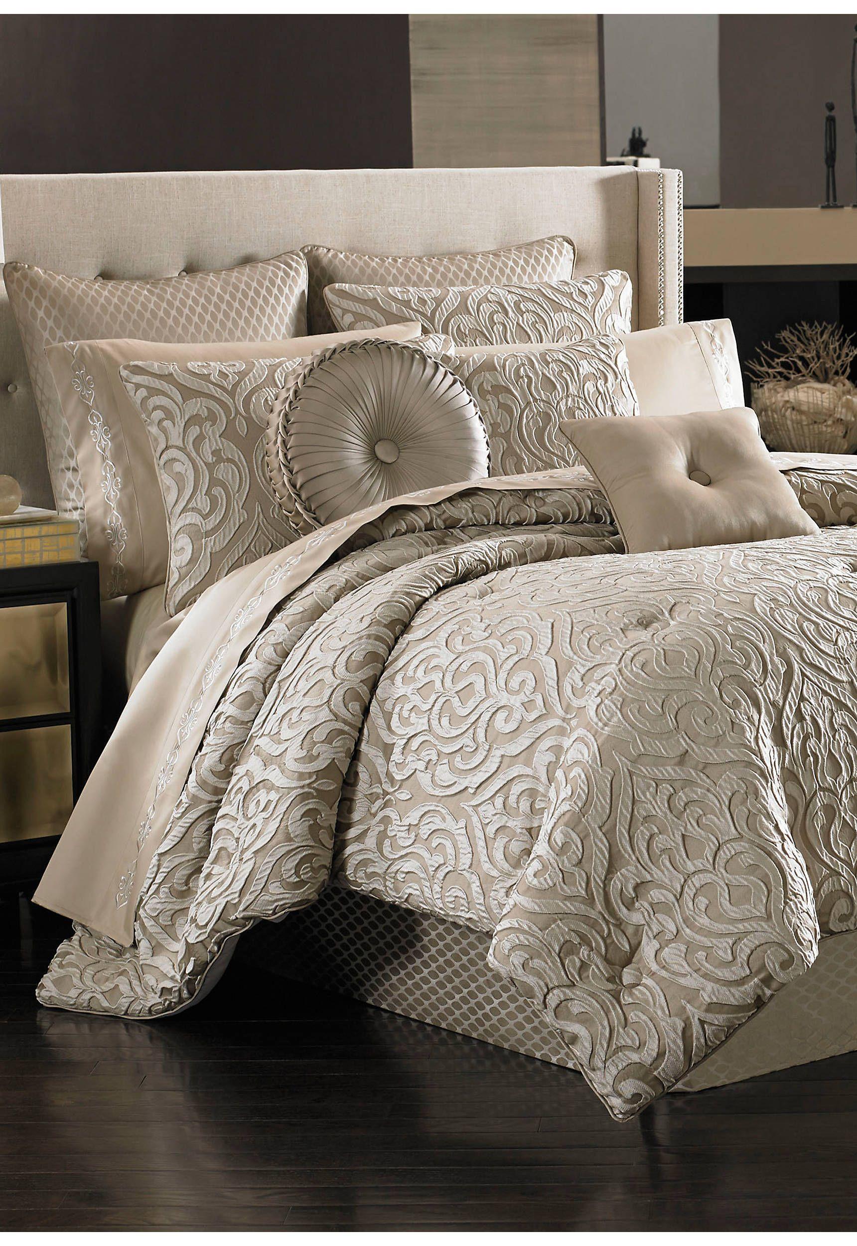 J Queen New York Astoria Comforter Set Bed Linens Luxury Luxury Bedding Luxury Comforter Sets