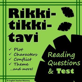Rikki tikki tavi test and reading questions comprehension rikki tikki tavi test and reading questions fandeluxe Choice Image
