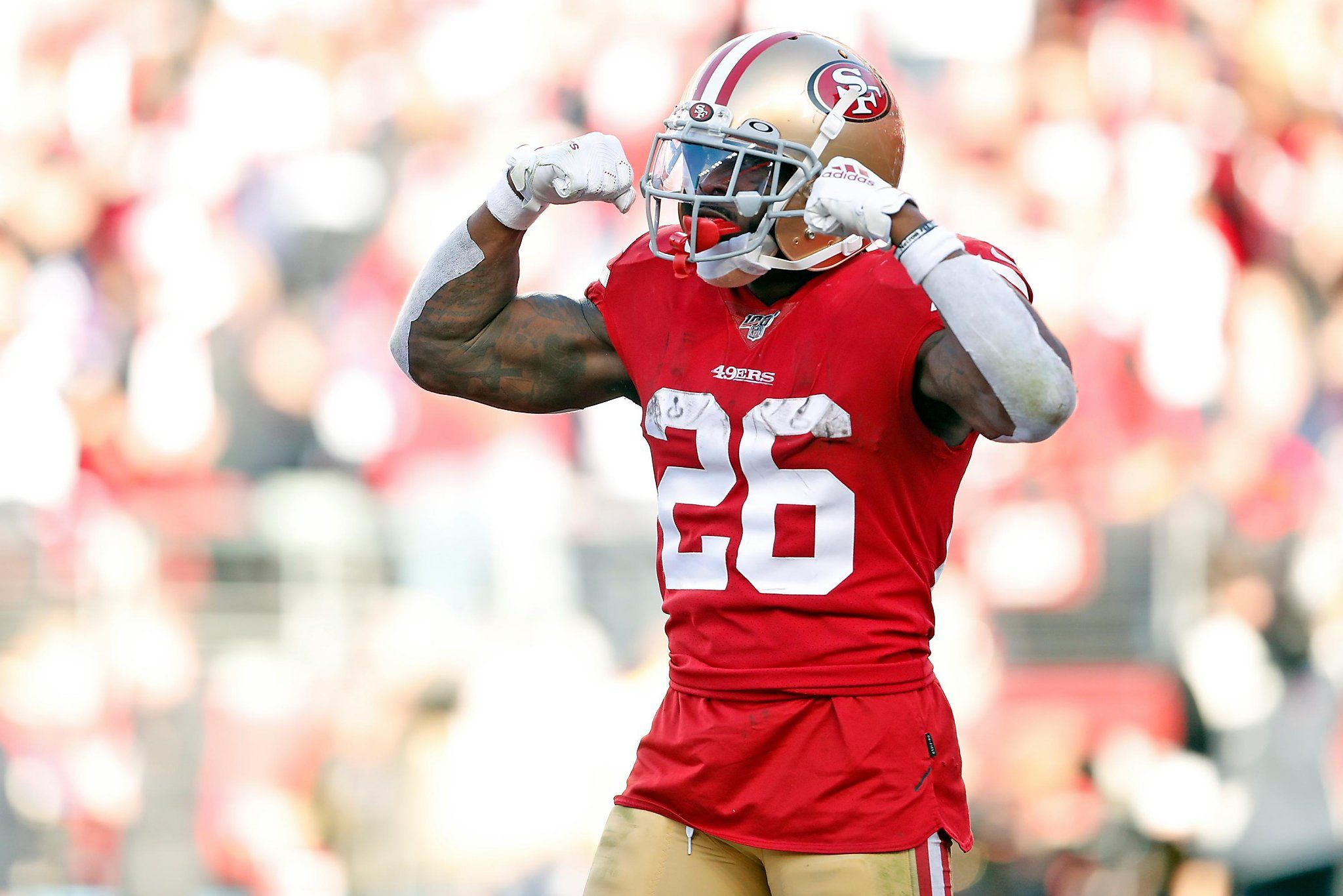 Poor air quality could sideline 49ers' Tevin Coleman for