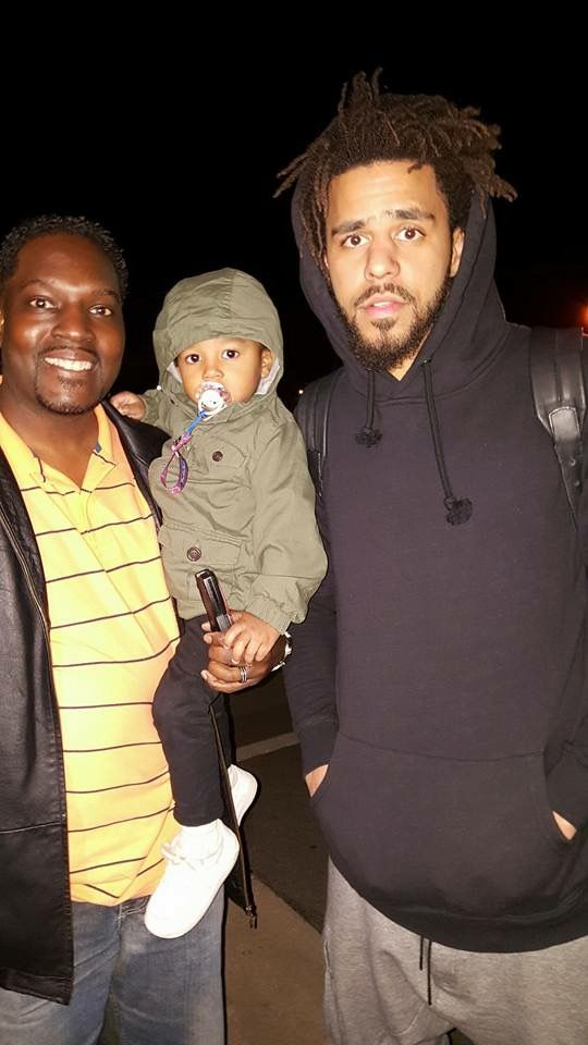 J Cole And His Father Pin by Angela Caruso o...