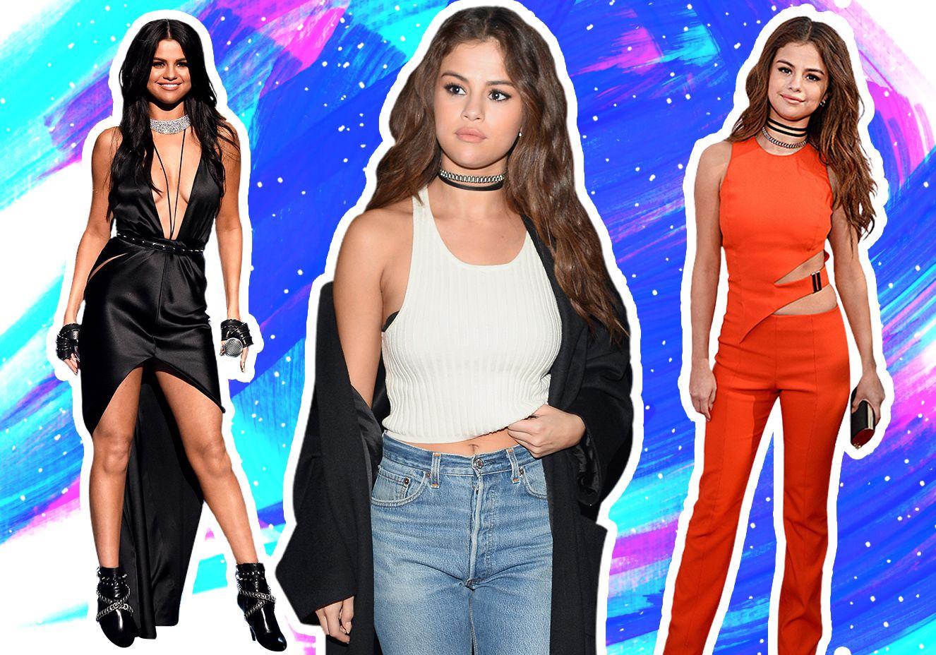 O estilo anos 90 incrível de Selena Gomez