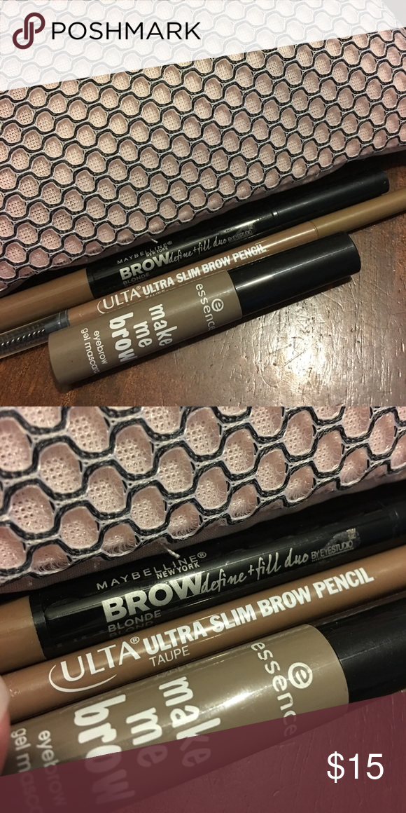5f972c657f7 Brow Bundle Maybelline Brow duo in blonde...Ulta slim Brow pencil in Taupe