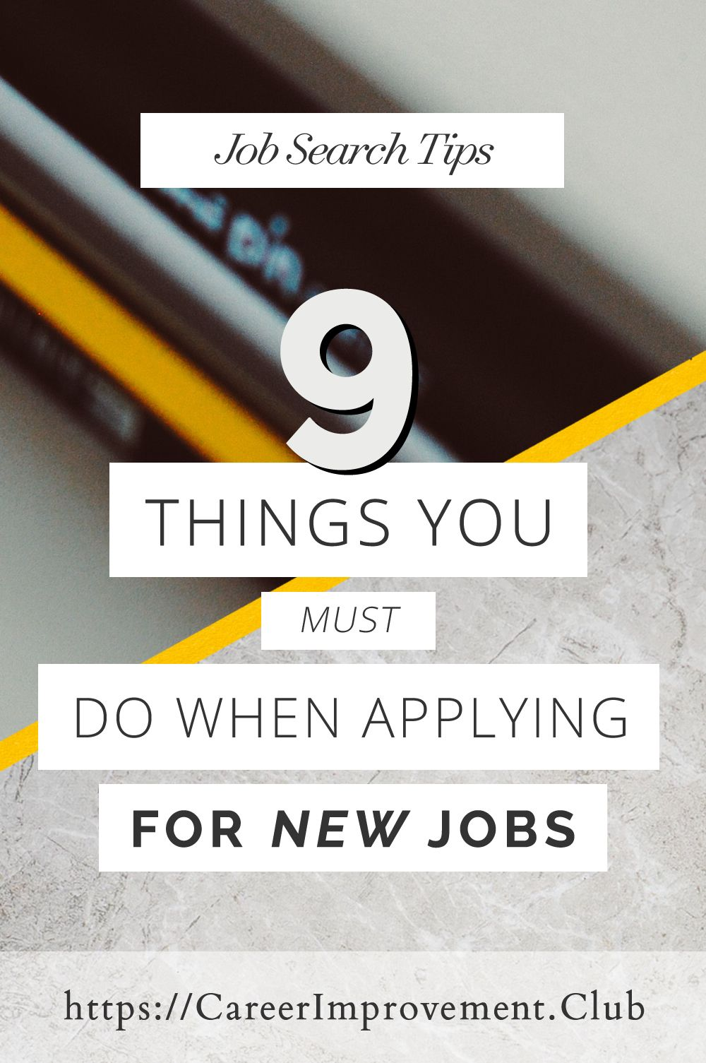 9 Things You MUST Do Before Applying For New Jobs