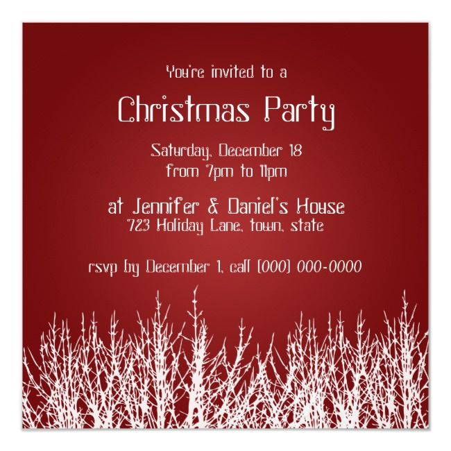 Christmas Party Invitations Holiday Party Invites    Christmas Party Invitations Holiday Party Invites Affiliate