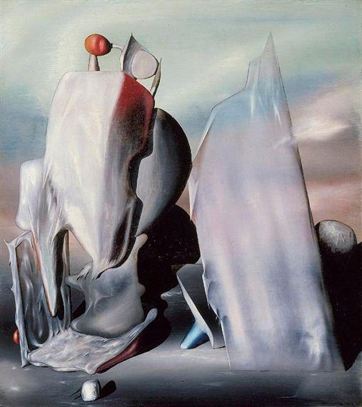 Tanguy 1943 Zone D Instabilite Surrealismus Kunst Online Kunst