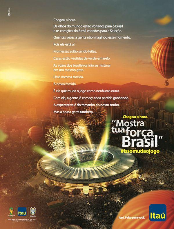 Banco Itau - Copa do Mundo Brasil on Behance