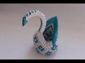 Photo of Wie man einen 3D-Origami-Rautenmusterschwan macht