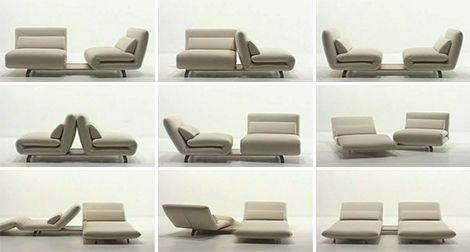 Double Swivel Recliner Sofa From Futura Le Vele Sofa: Design In Movement