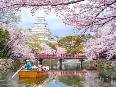 The Best Time To Visit Japan A Month By Month Guide Japan Travel Great Places To Travel Himeji Castle