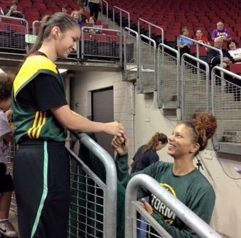 Alysha Clark, Seattle Storm, WNBA