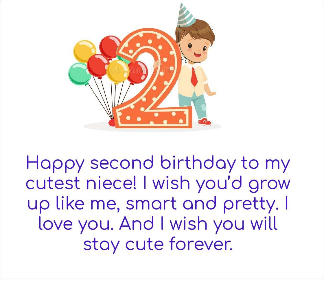 Happy 2nd Birthday Quote Image | Happy Birthday | Birthday Quotes