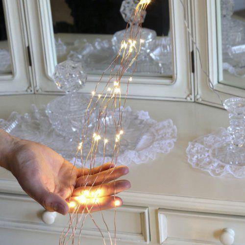 Multi strand copper wire micro plug in fairy lights 150 warm white multi strand copper wire micro plug in fairy lights 150 warm white leds greentooth Choice Image