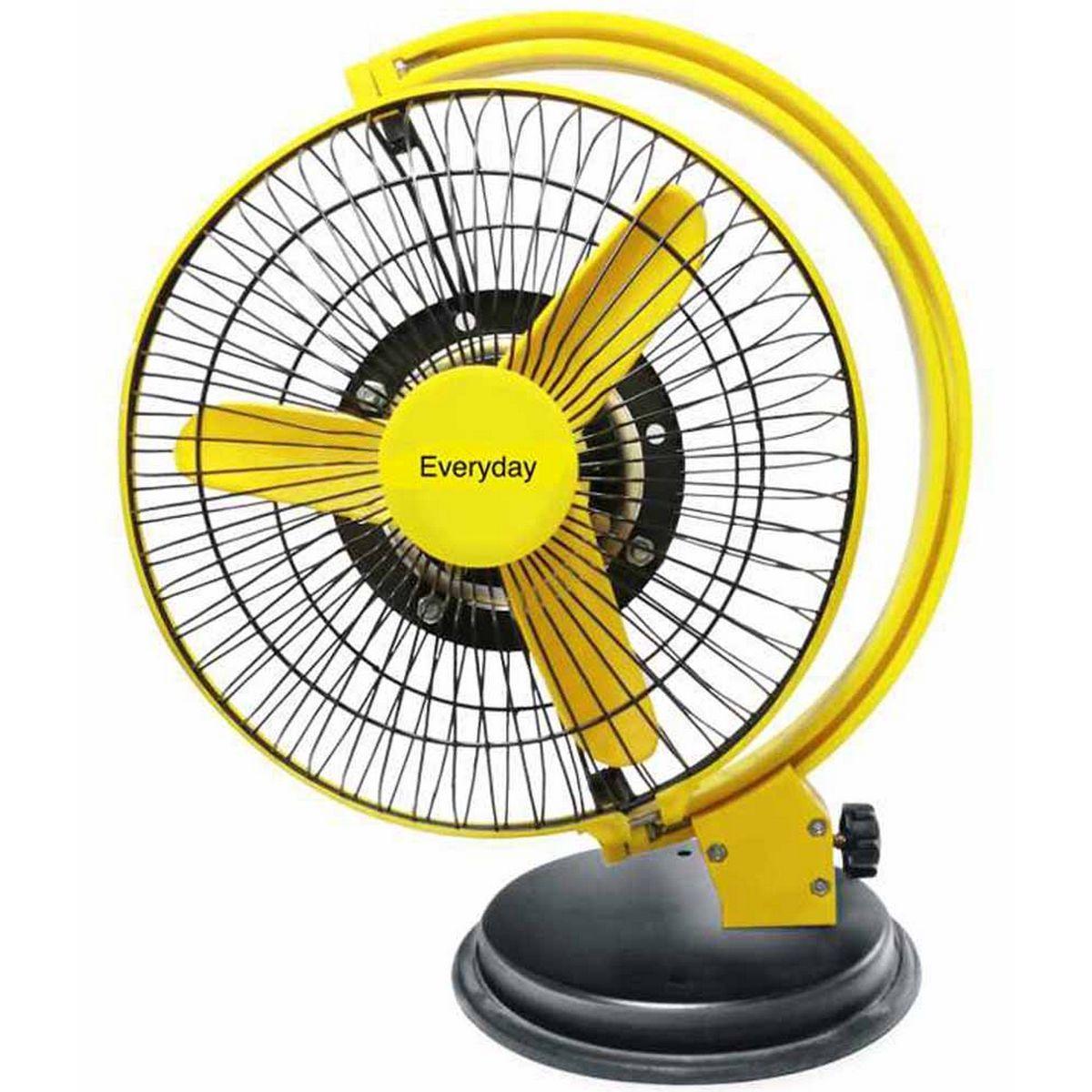 Yellow Everyday It Is The Best Table Fan In Not Ordinary Style Table Fan Fan Wall Fans