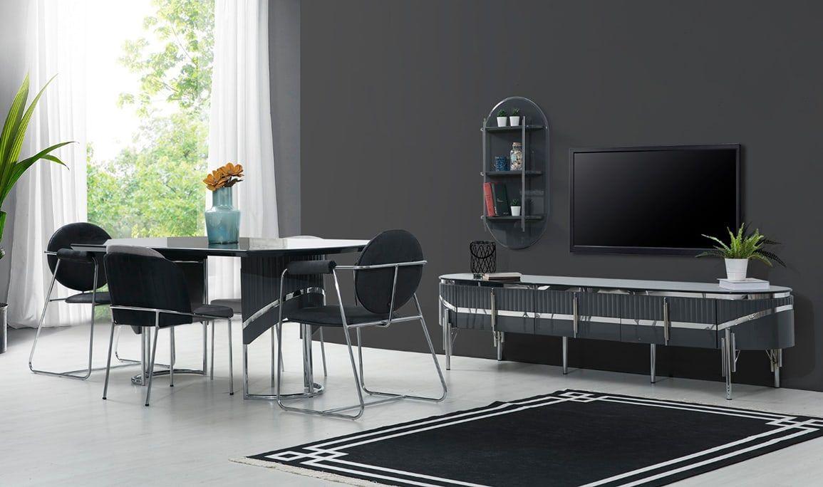 Kartaca Antrasit Yemek Odasi In 2021 Dining Chairs Home Decor Decor