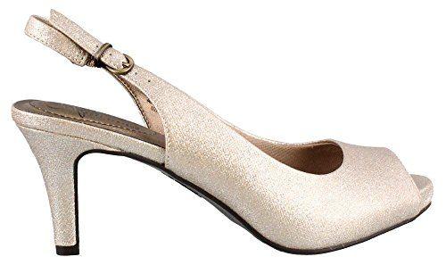 LifeStride Womens Teller Heeled Sandal