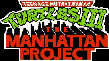 Teenage Mutant Ninja Turtles Iii The Manhattan Project Nes Konami Logodesign Video Game Logos Game Logo Game Logo Design