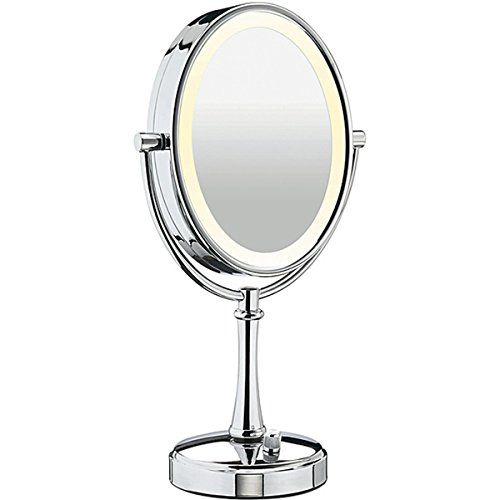 Conair Be118 Double Sided 10x 1x Polished Nickel Variable Lighting Makeup Mirror Check This Awesome P With Images Makeup Mirror Makeup Mirror With Lights Skin Care Tools
