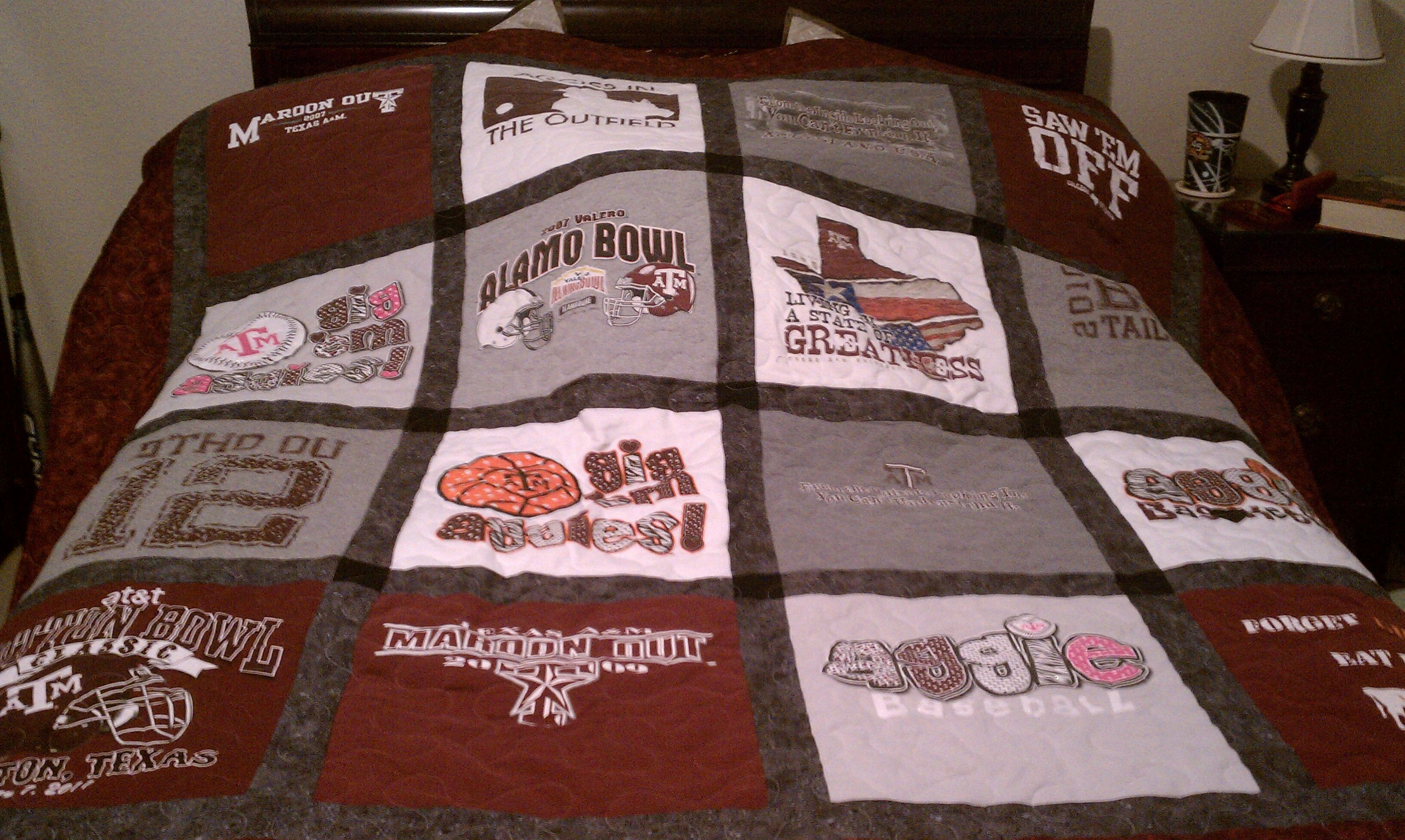 1000 Images About Aggie Blankets Quilts Or Pillows On Pinterest