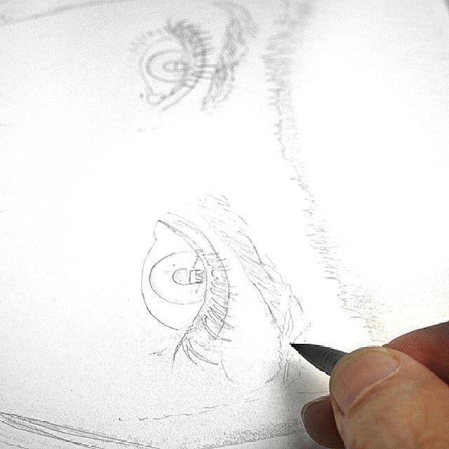 The master Dru Blair always said start with a good sketch!