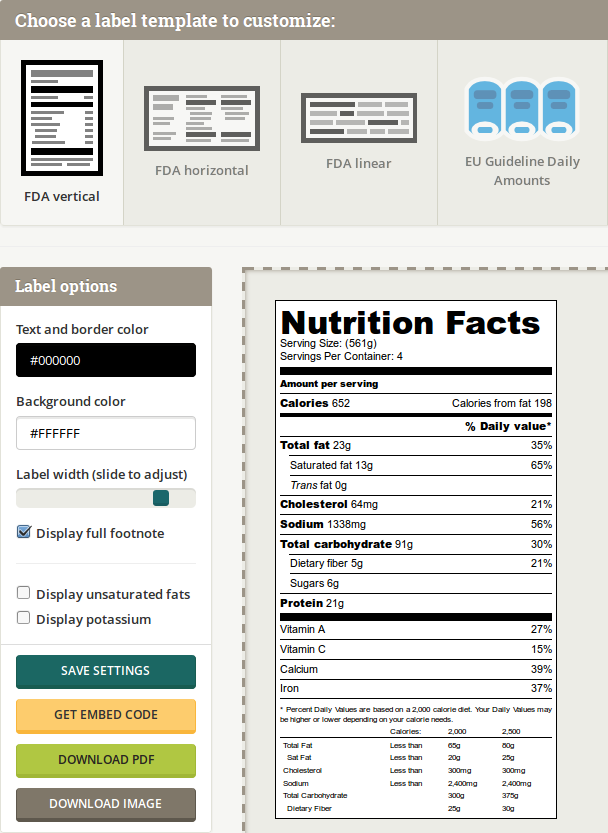 Newtrien Nutrition Facts Labels Made Easy Nutrition Facts Label Nutrition Facts Nutrition