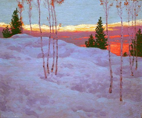 Frank Johnston, Canadian Group of Seven artists